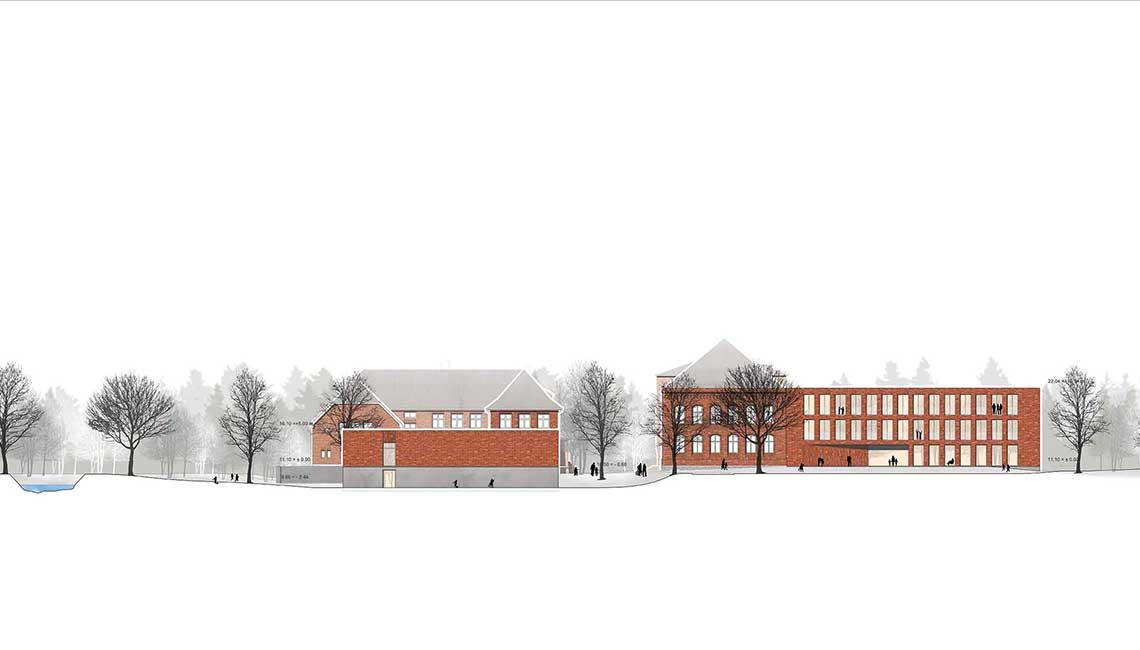 Grundschulzentrum Boizenburg Ansicht Ost