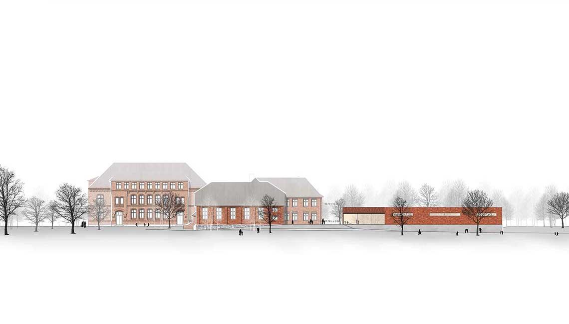 Grundschulzentrum Boizenburg Ansicht Süd