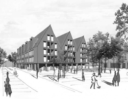 665-urban complex Kirchstrasse-Bremervörde
